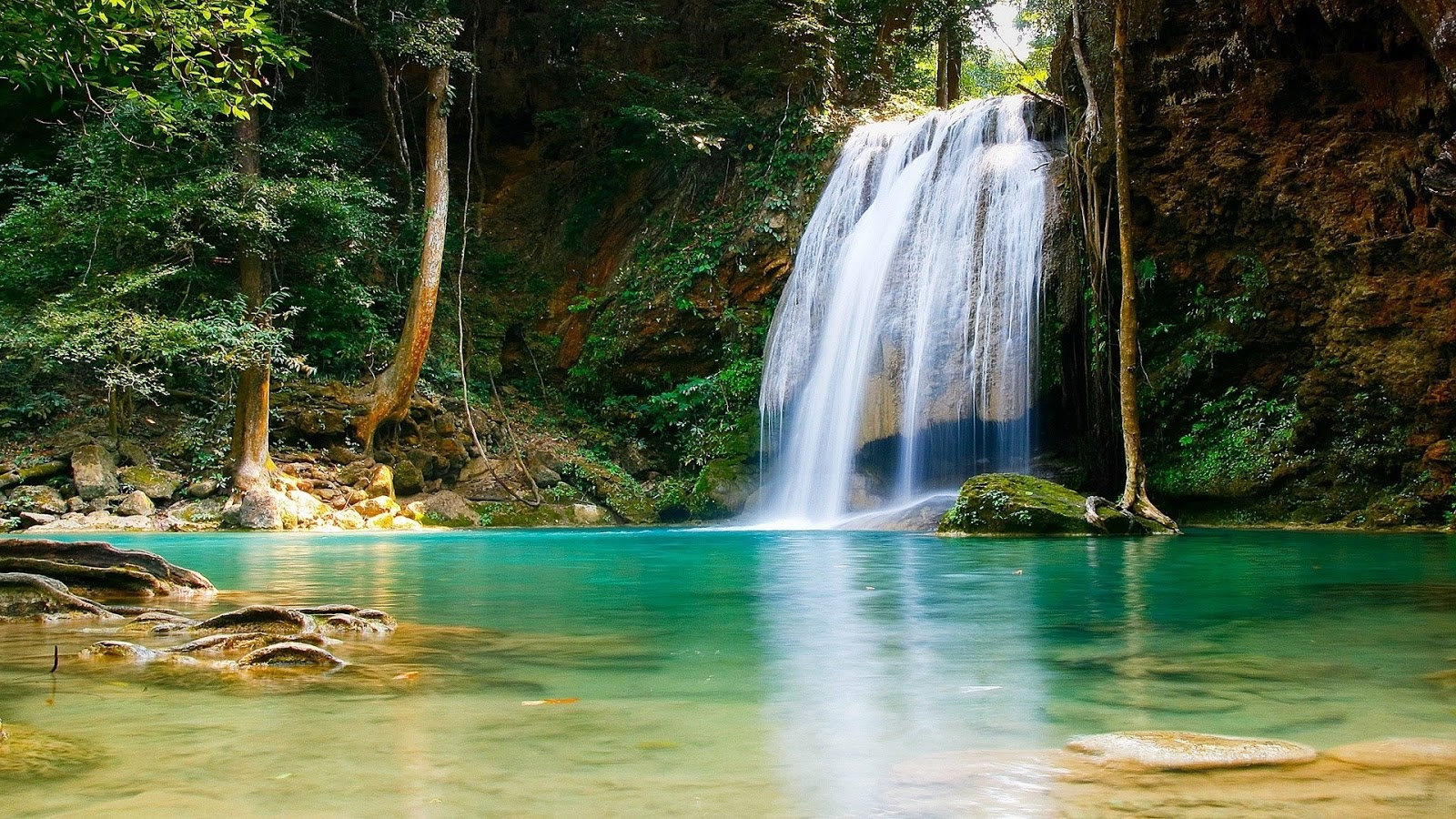 waterfall live wallpaper for pc windows 7