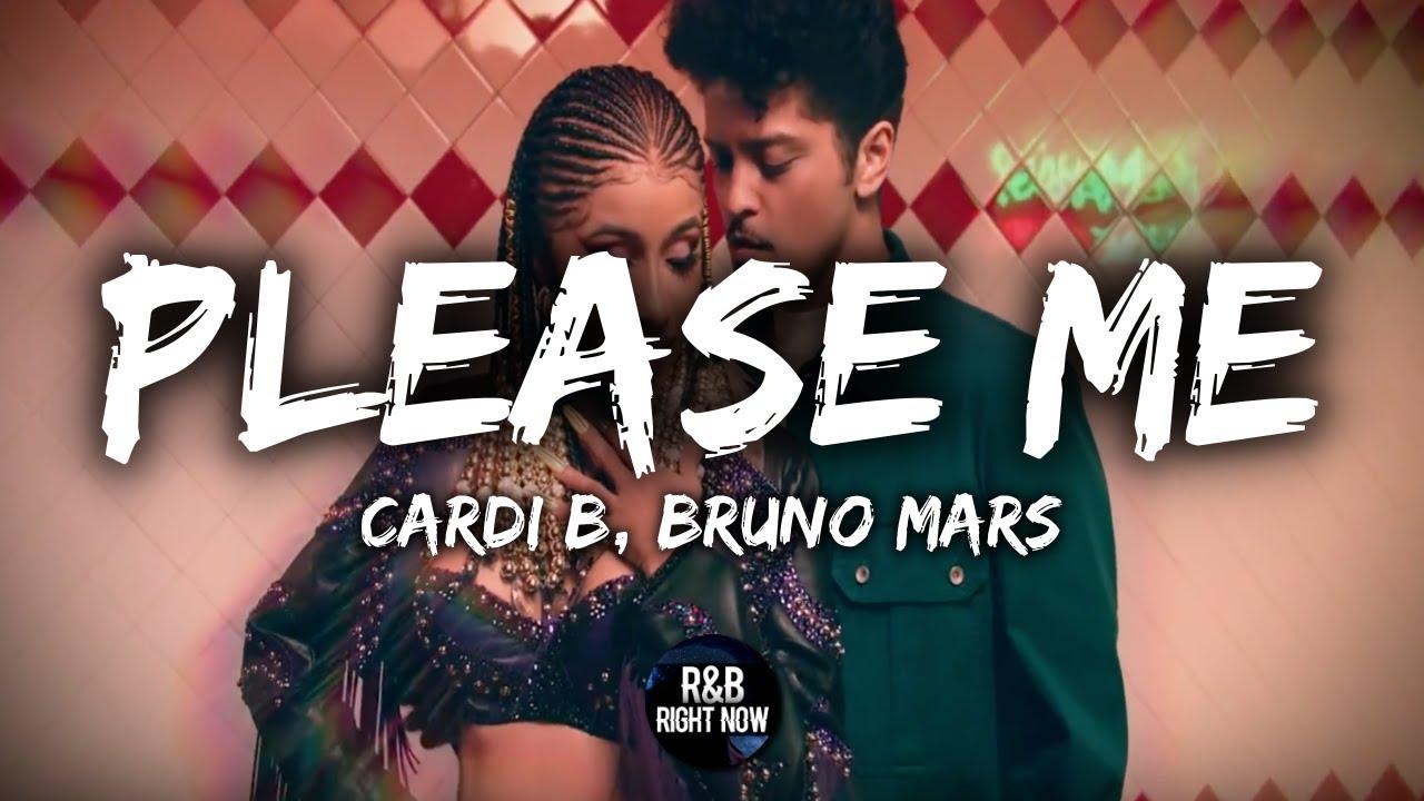 Cardi B Bruno Mars   Please Me Lyrics Lyric Video 1280x720