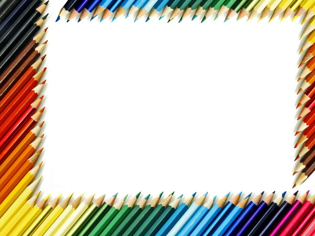 Colored Pencils Wallpaper Clipart Panda   Clipart Images 1024x768
