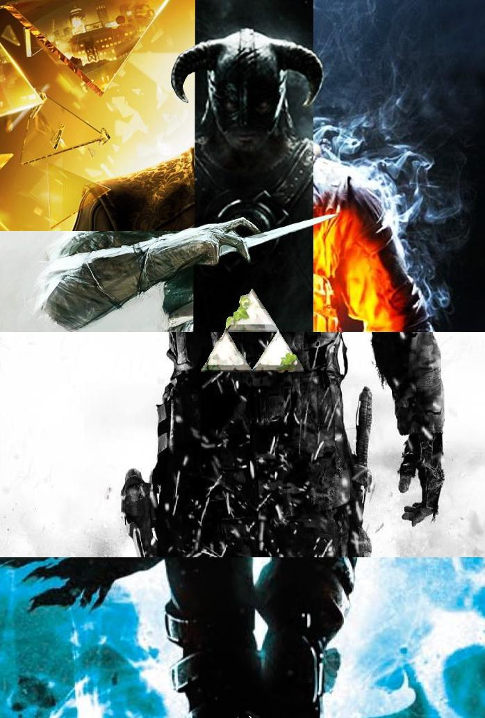 video game collage2011 EPIC VIDEO GAME COLLAGE Front Street Teens 698x1032