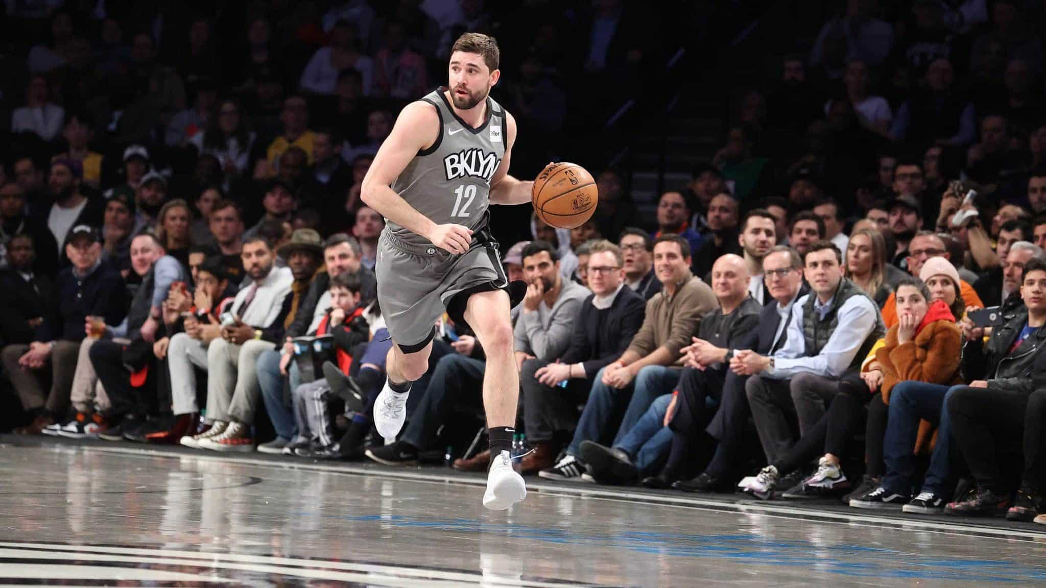 Brooklyn Nets video Joe Harris fails to defend 3 point contest title 2048x1152