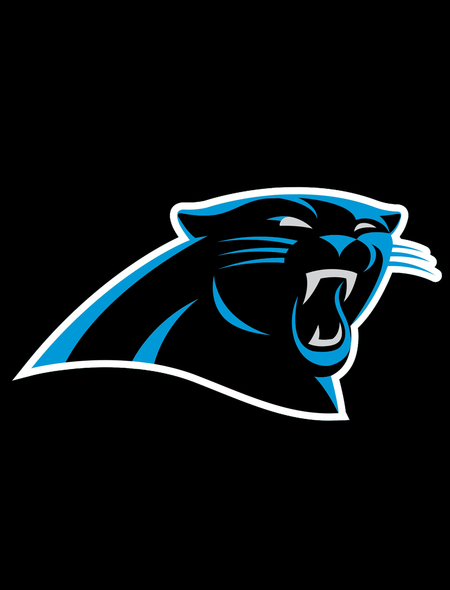 Carolina Panthers Black Wallpaper for Phones and Tablets 450x590