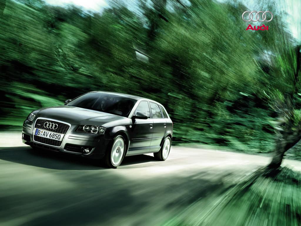 Audi A3 Wallpaper 1024x768