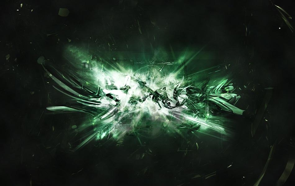 Green Abstract HD Wallpaper 1080p   HD Dock 950x600