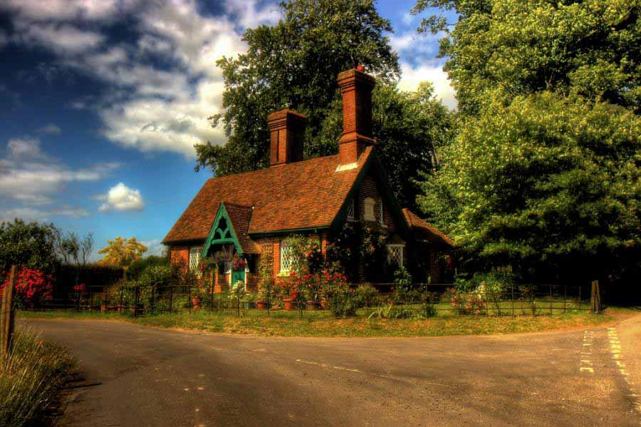 English Cottage Wallpapers Prime Wallpapers 900x599