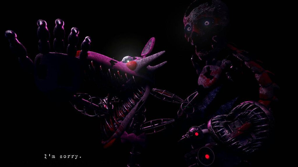 Free download Fan Made Fnaf4 Nightmare Mangle Not made by me by