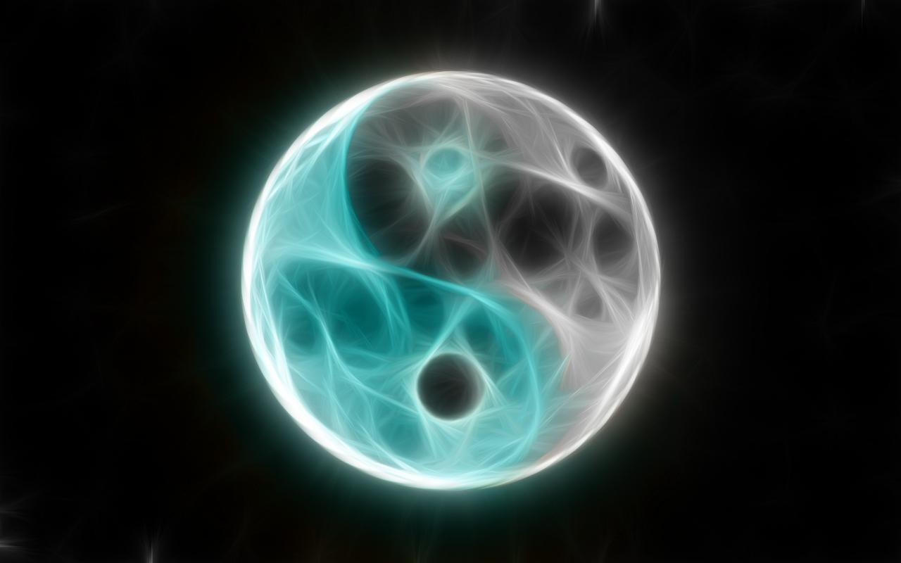 Free Download Cool Yin Yang Wallpaper 1280x800 For Your Desktop