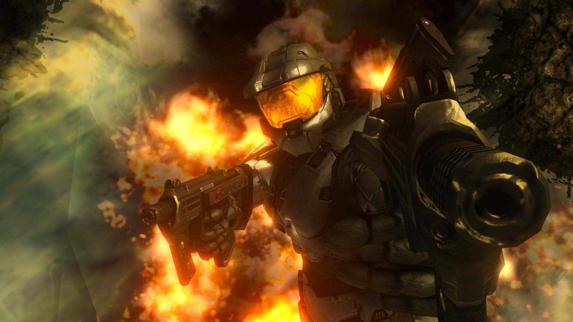Halo Master Chief And Arbiter Back To Download