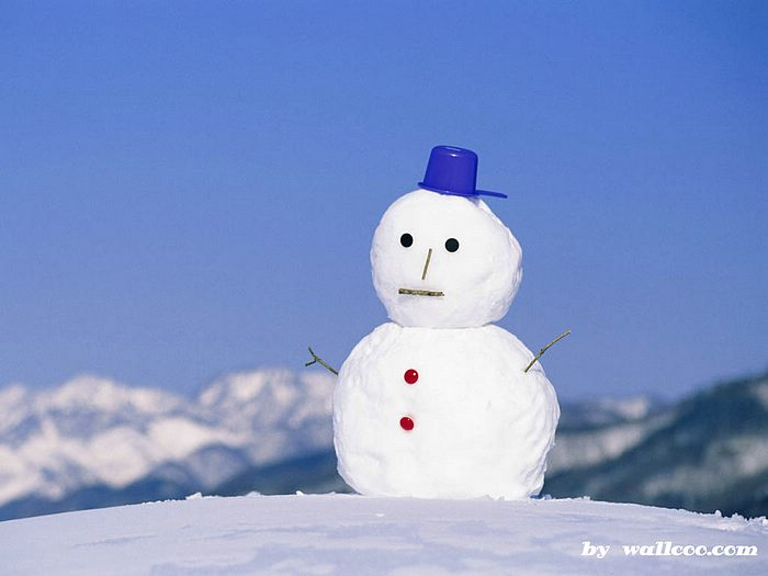 Shots of WinterSnowman wallpaper   Winter Wallpaper 700x525