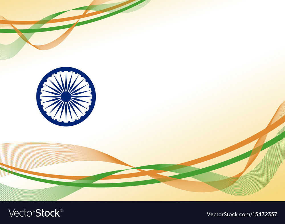 India independence day background design with Vector Image 1000x786