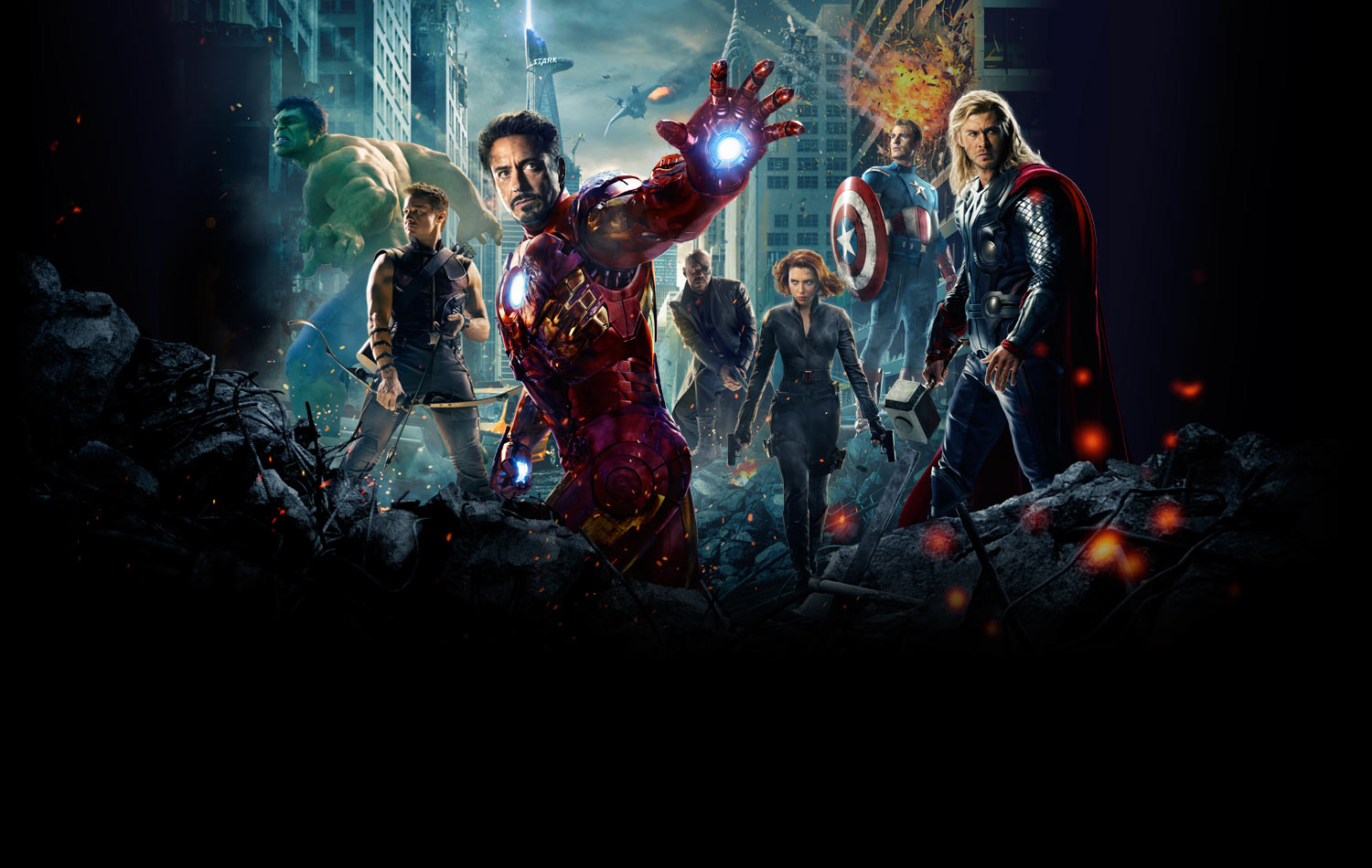 by LEAGUE OF FICTION The Avengers Wallpaper trailer 2 HD release 1500x950