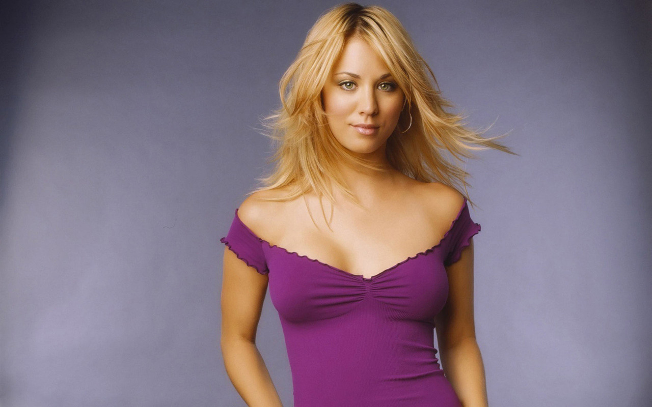 Kaley Cuoco Widescreen Wallpaper   16193 1280x800