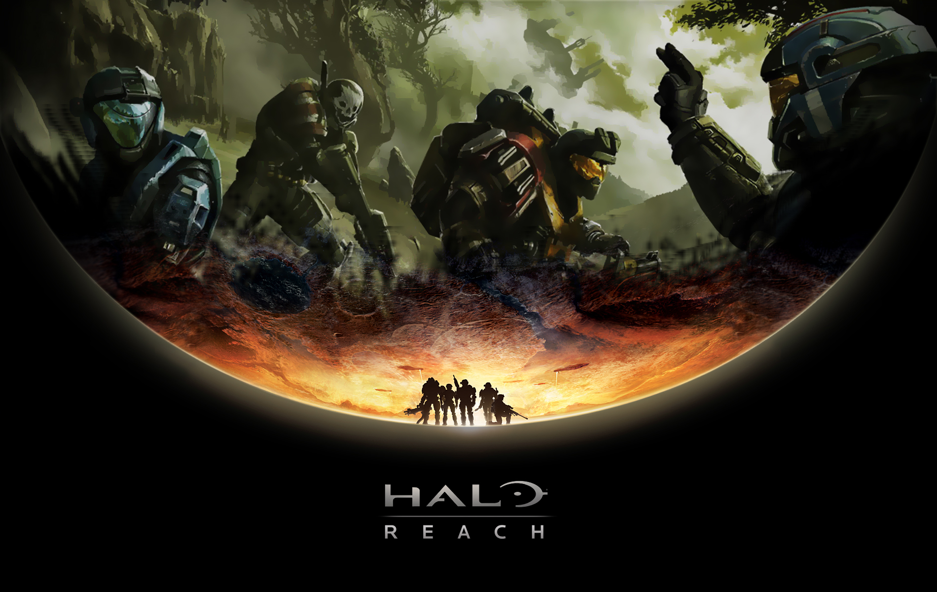 Epic Halo Reach Wallpapers 1900x1200