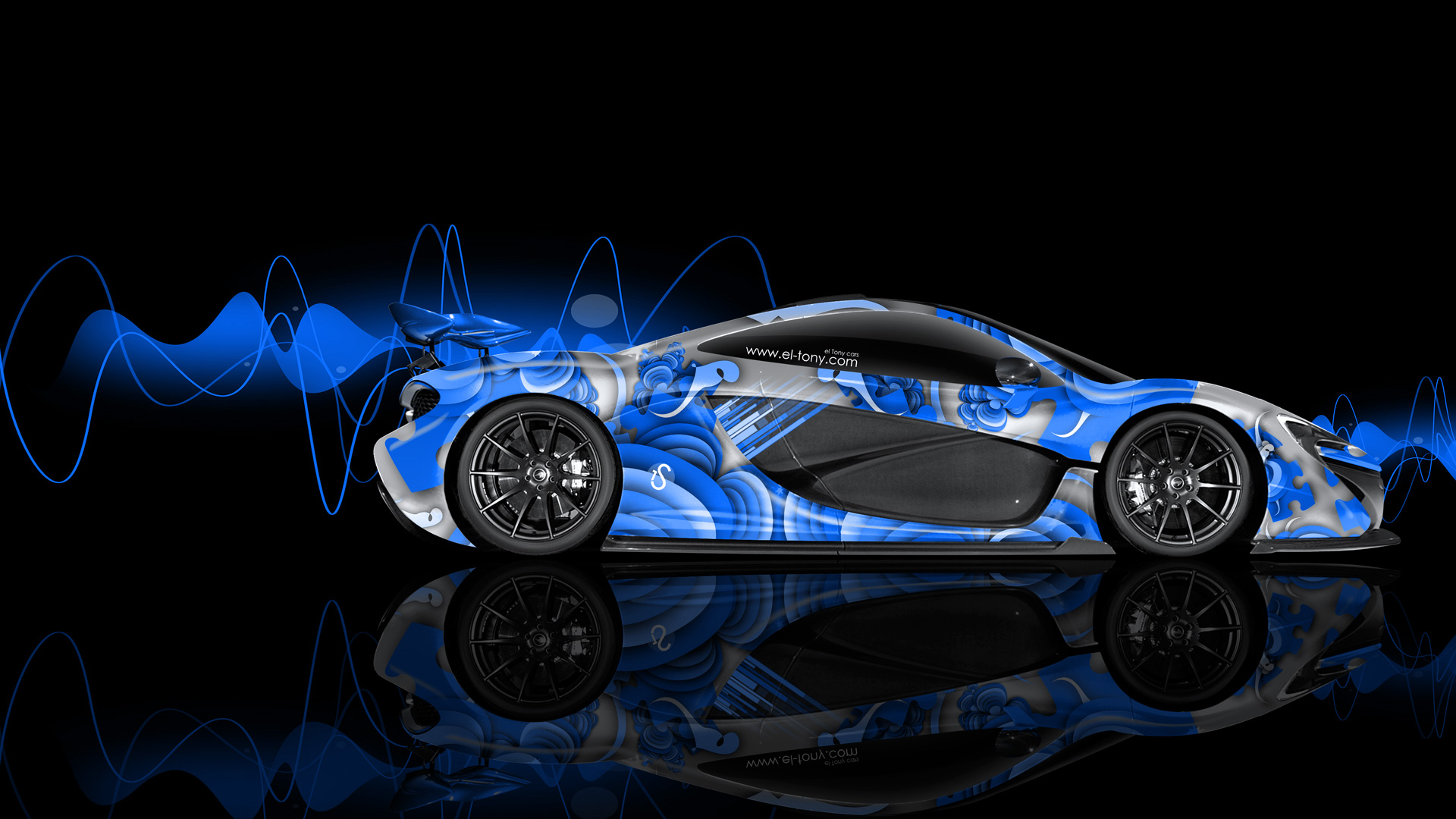 blue mclaren p1 wallpaper - photo #22