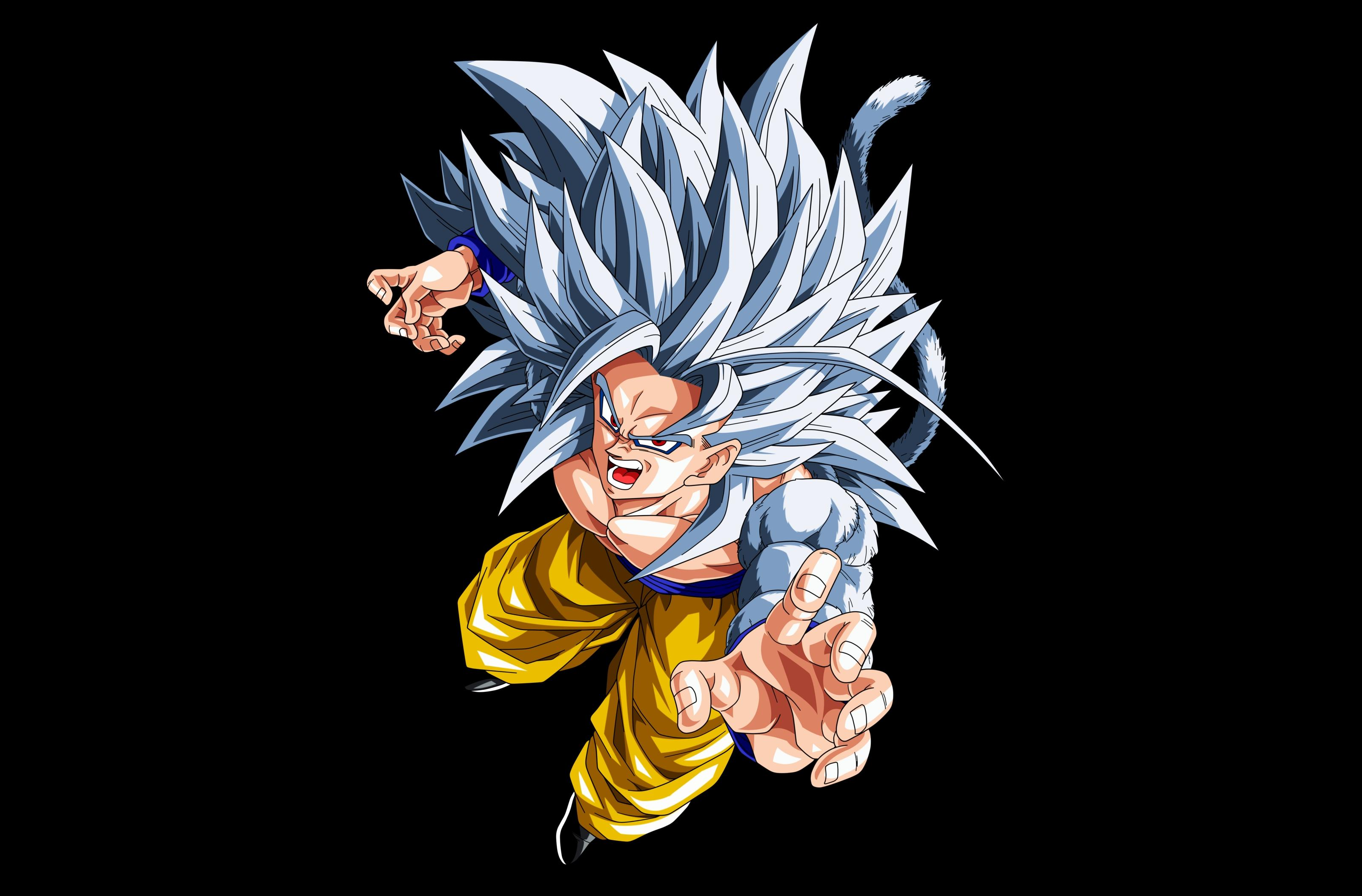 Super saiyan goku wallpaper wallpapersafari - Goku vs vegeta super saiyan 5 ...
