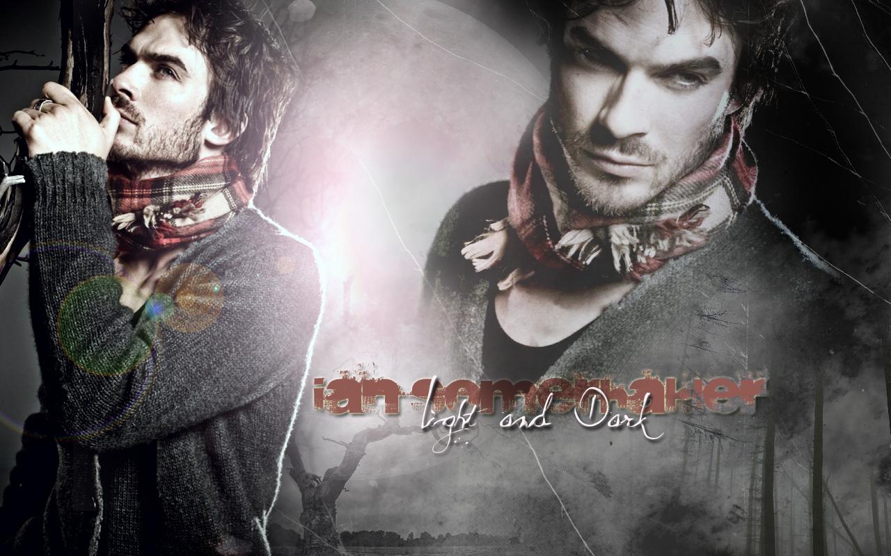 Ian Somerhalder   Wallpaper   The Vampire Diaries TV Show 1280x800