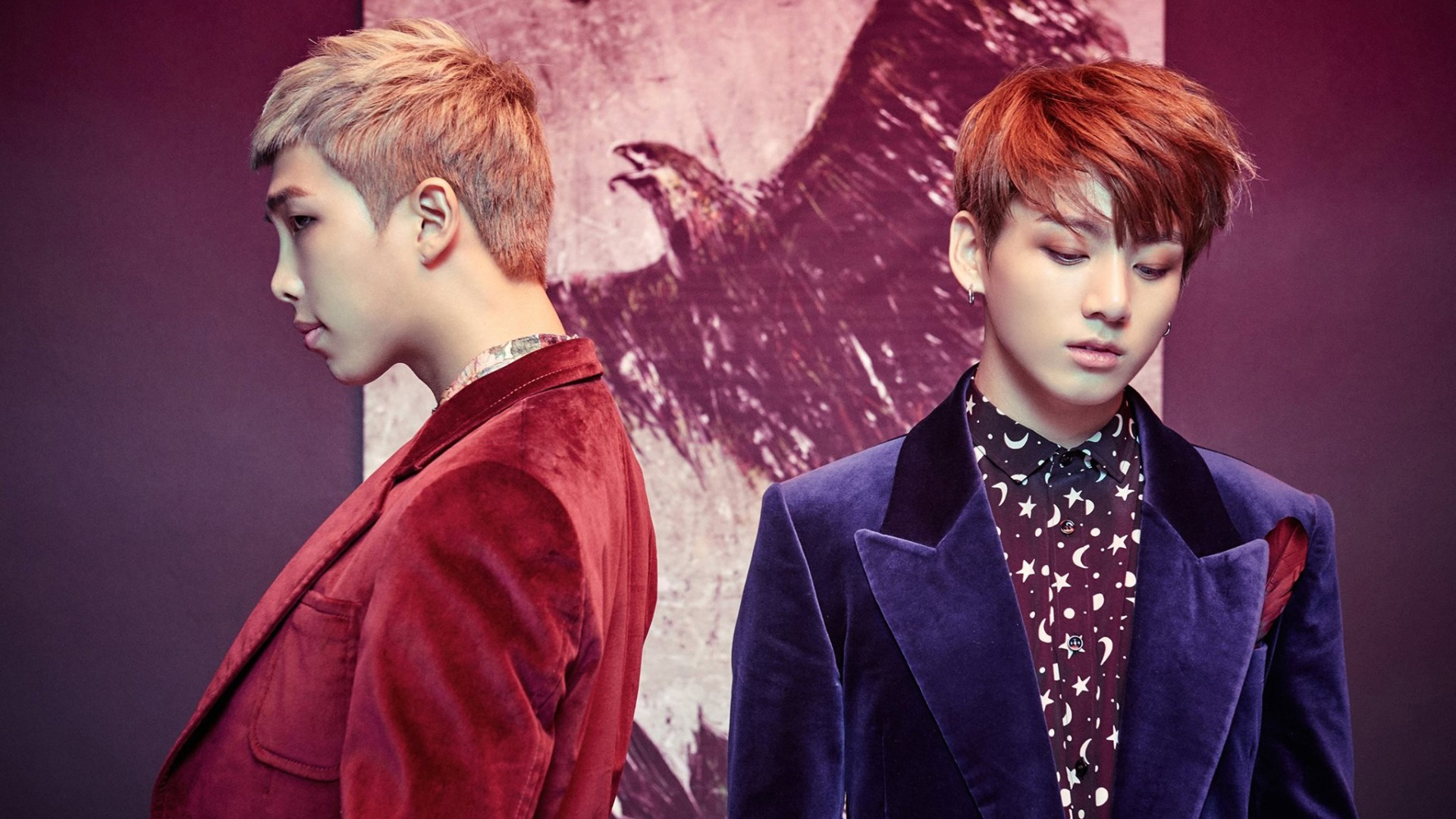 Kim Namjoon BTS images RM and Jungkook HD wallpaper and background 1920x1080