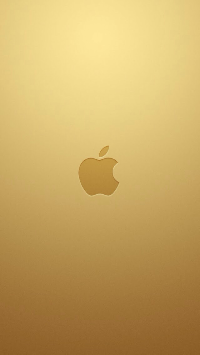 iPhone] iPhone 5s gold wallpaper   MacRumors Forums 640x1136