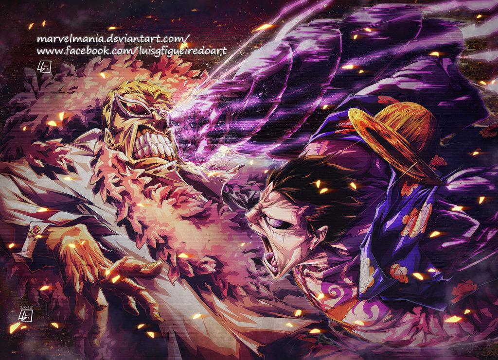 Doflamingo Wallpaper 3d Luffy vs Doflam...