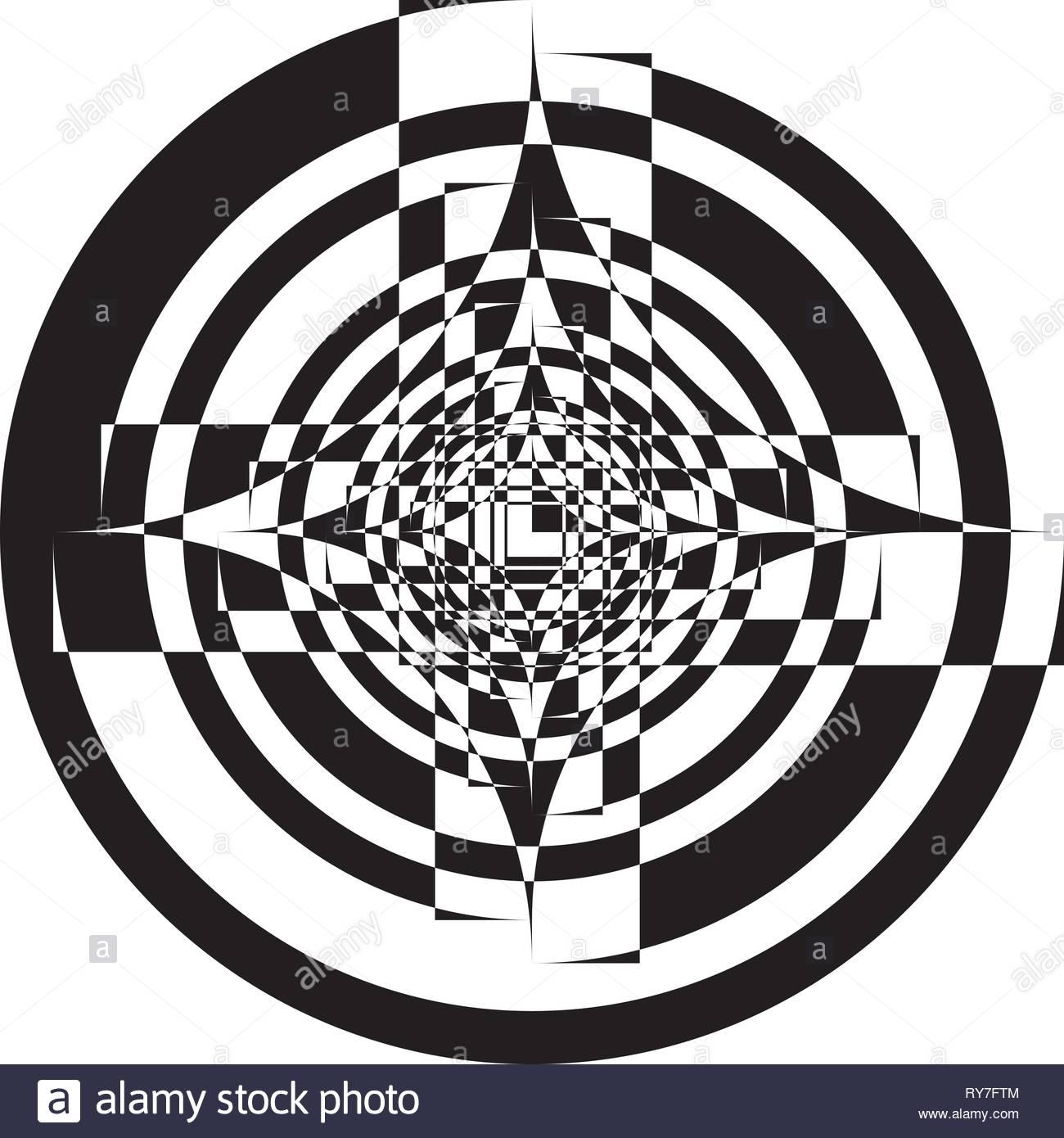 Arabesque pseudo tridimensional snail impression on transparent 1300x1390