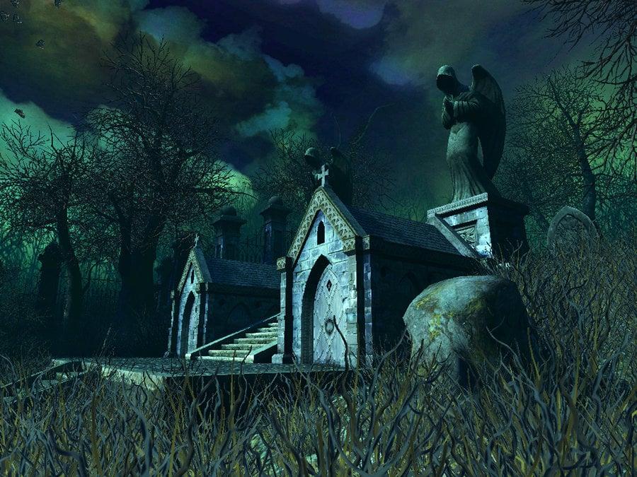 Haunted house background 10 by indigodeep 900x675