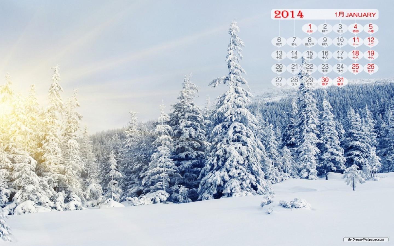 Wallpaper   Art wallpaper   January 2014 Calendar wallpaper 1440x900