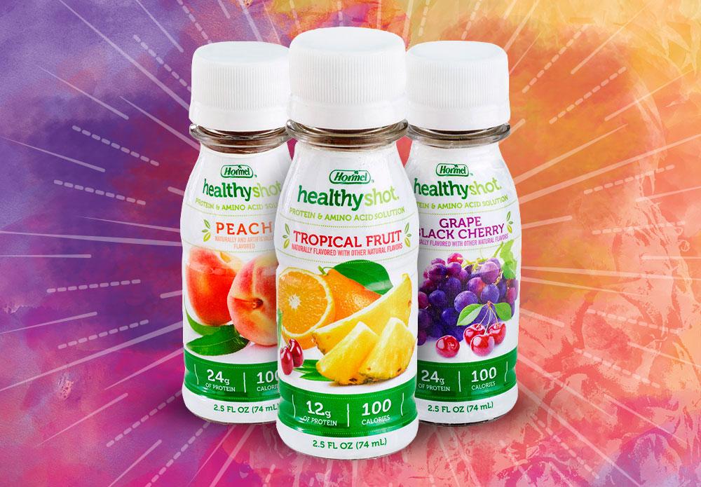 HEALTHY SHOT High Protein Beverage   Hormel Health Labs 1000x695