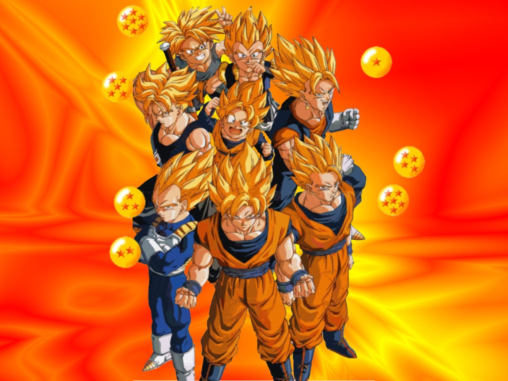 Dragon Ball Z DBZ 1024x768