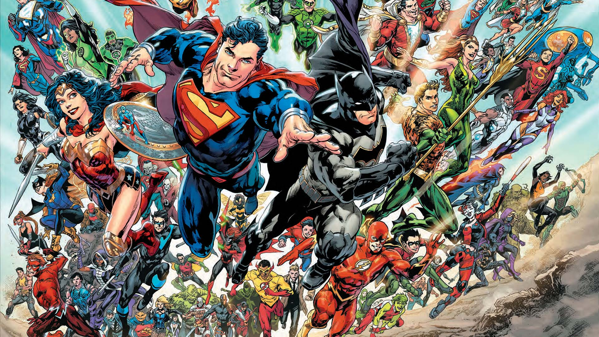 DC Rebirth Wallpapers   Top DC Rebirth Backgrounds 1920x1080