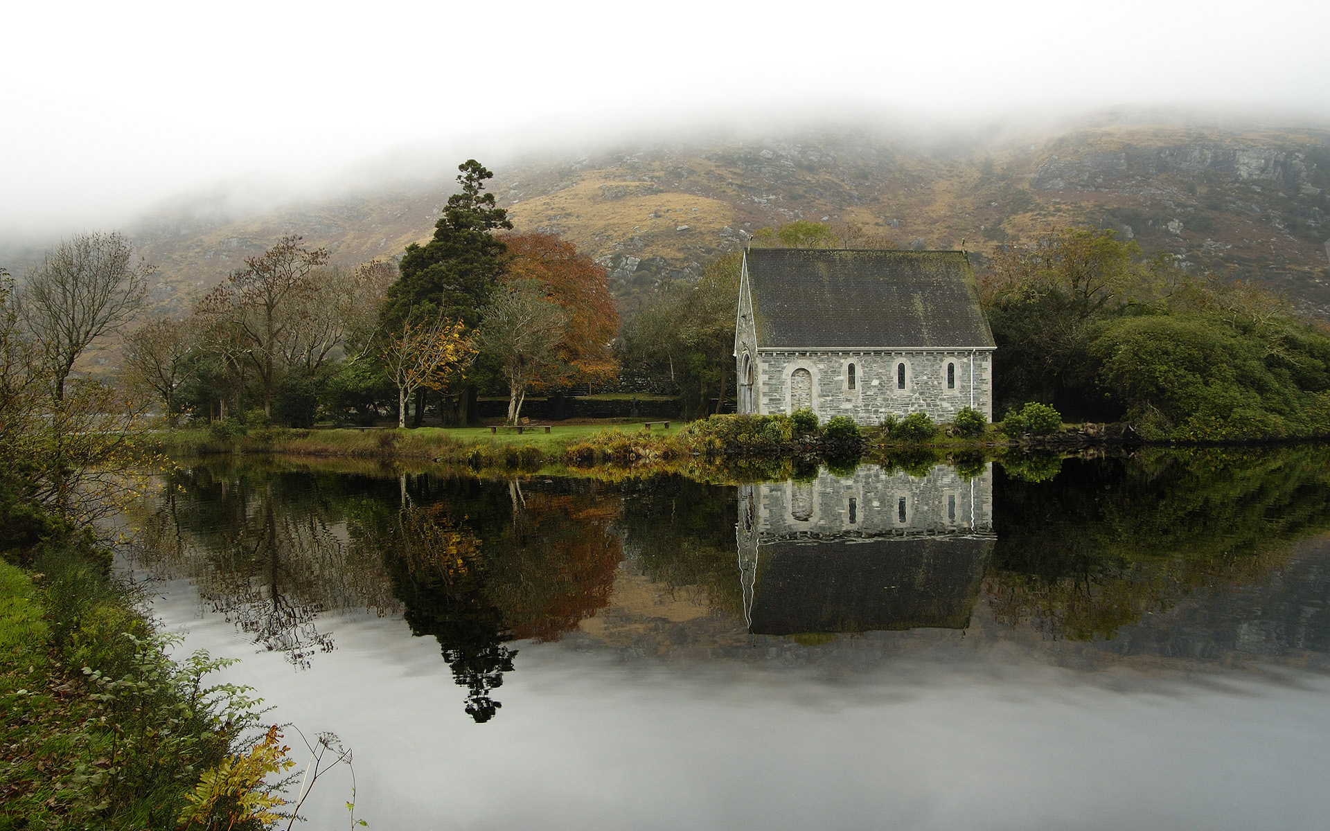Gougane Barra wallpapers and images   wallpapers pictures photos 1920x1200