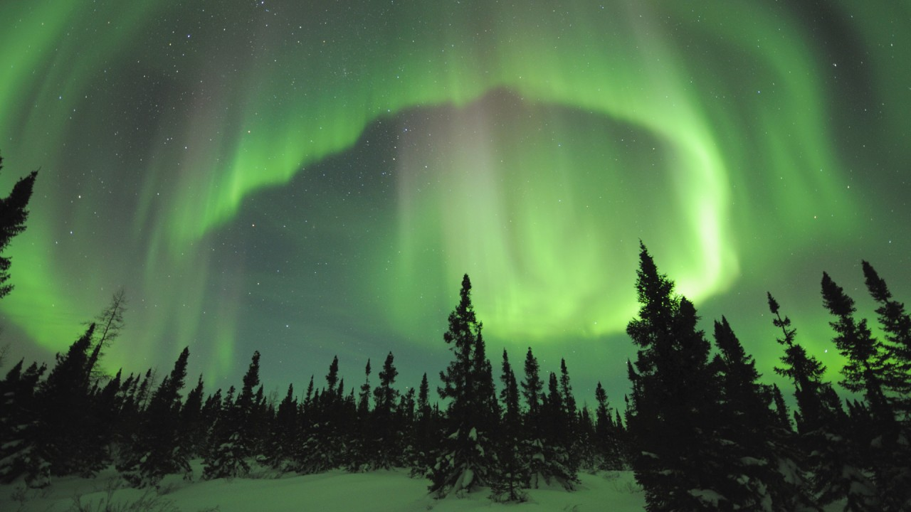 Borealis Manitoba Canada 1280x720 720p   Wallpaper   ImgPrix 1280x720