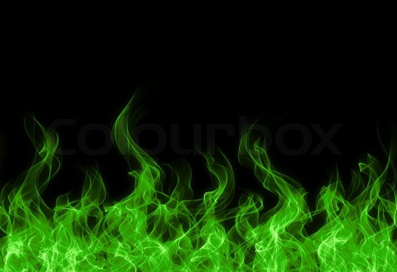 green fire wallpaper - photo #12