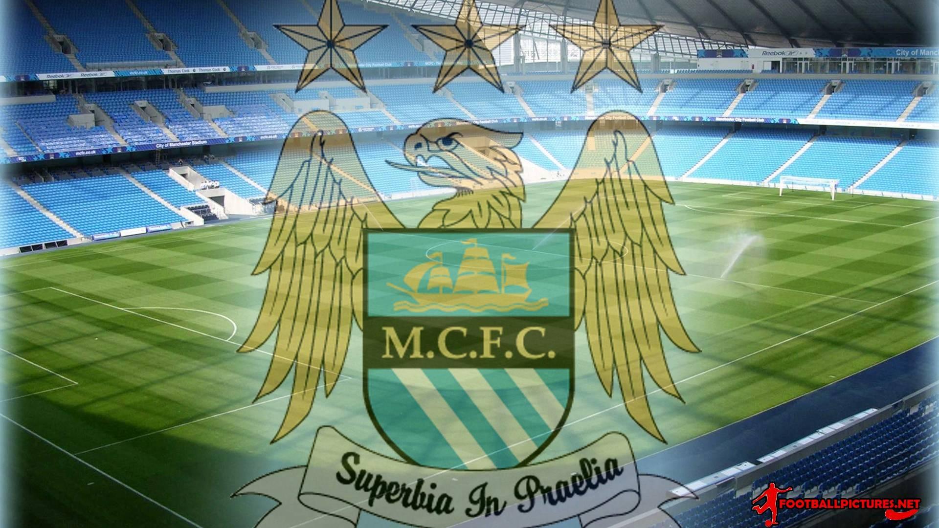 Manchester City Wallpaper PC Full Logo 1920x1080