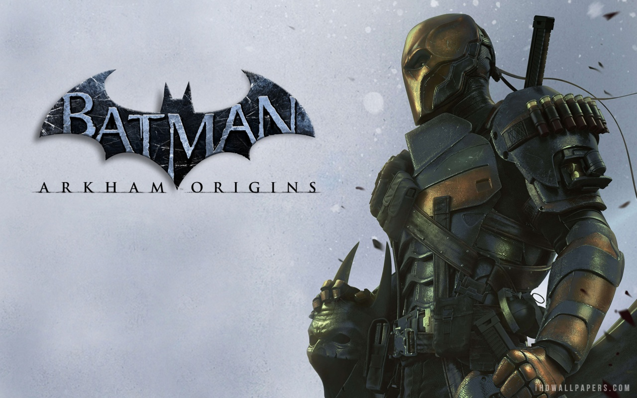 Deathstroke in Batman Arkham Origins HD Wallpaper   iHD Wallpapers 1280x800