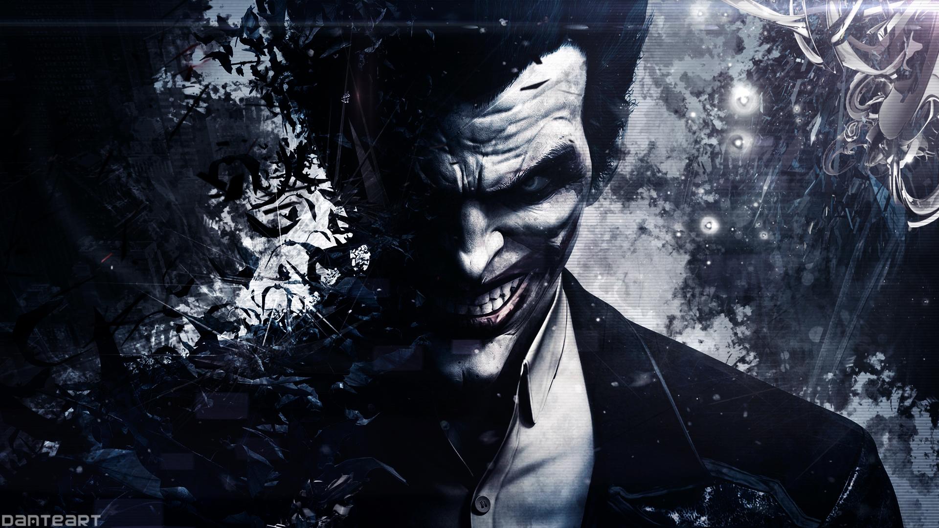 wallpaper batman joker origins arkham art d6runzh 1920x1080