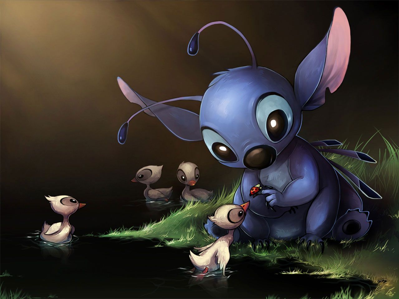 Lilo And Stitch Cute Drawings 1280x960