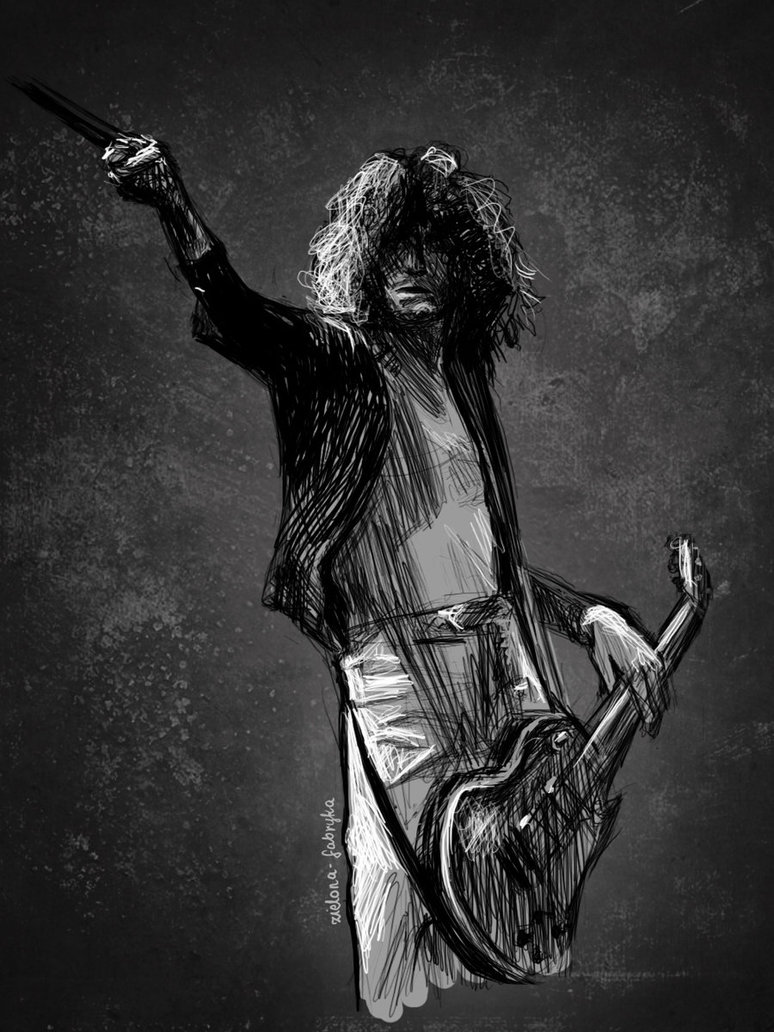Jimmy Page by zielona fabryka 774x1032