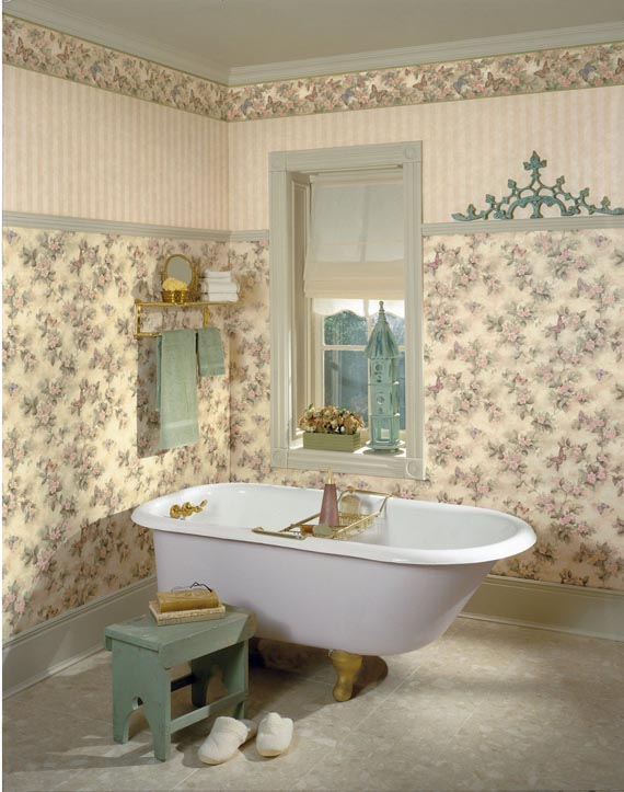 wallpaper decorating ideas 2015   Grasscloth Wallpaper 570x723