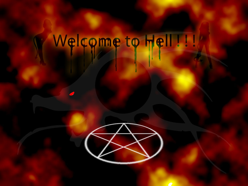 Living Hell wallpaper by duelx24 on deviantART 1024x768
