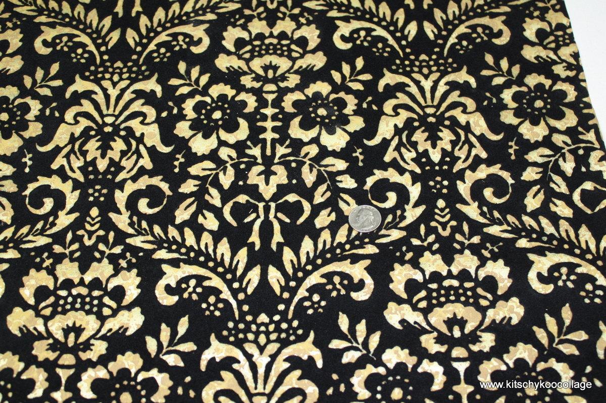 black and white flocked wallpaper  wallpapersafari - 's vintage wallpaper retro black flocked by retrowallpaper