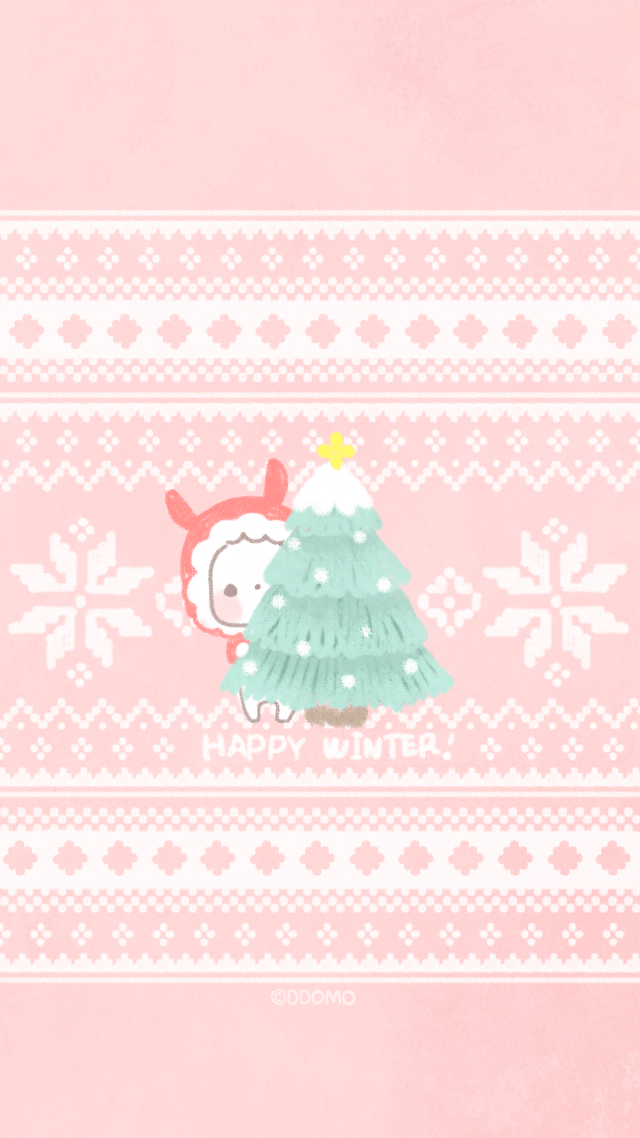 Kawaii Winter iPhone Wallpapers   Top Kawaii Winter iPhone