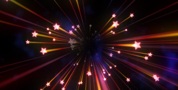 Motion Graphics   Elegant Shooting Stars Background Pack01 VideoHive 590x300