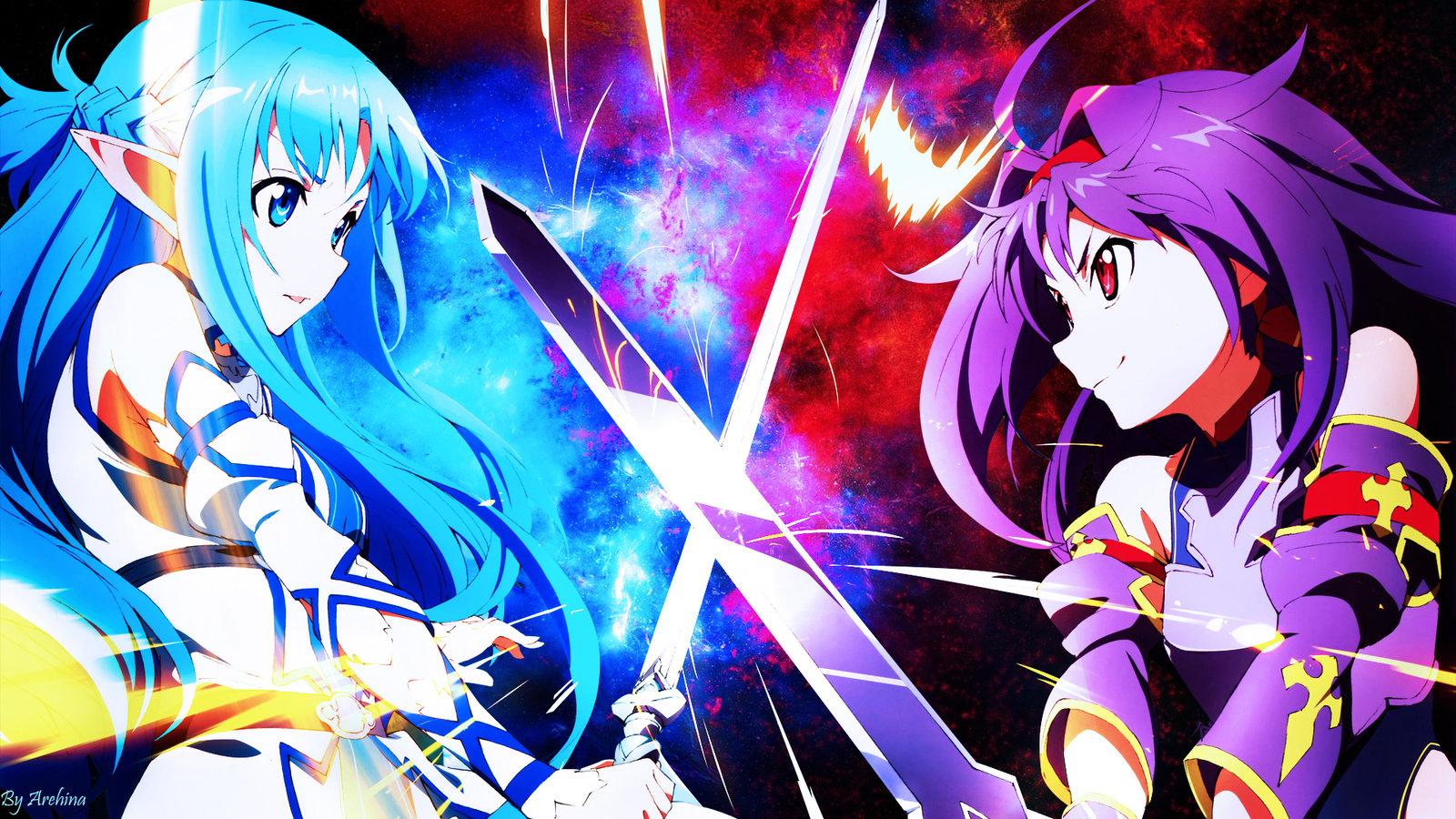 Wallpaper Game Anime Manga Animated Film Sword Art Online
