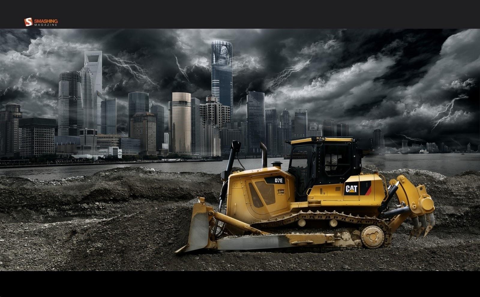 Construction equipment wallpaper wallpapersafari for Builder contractors