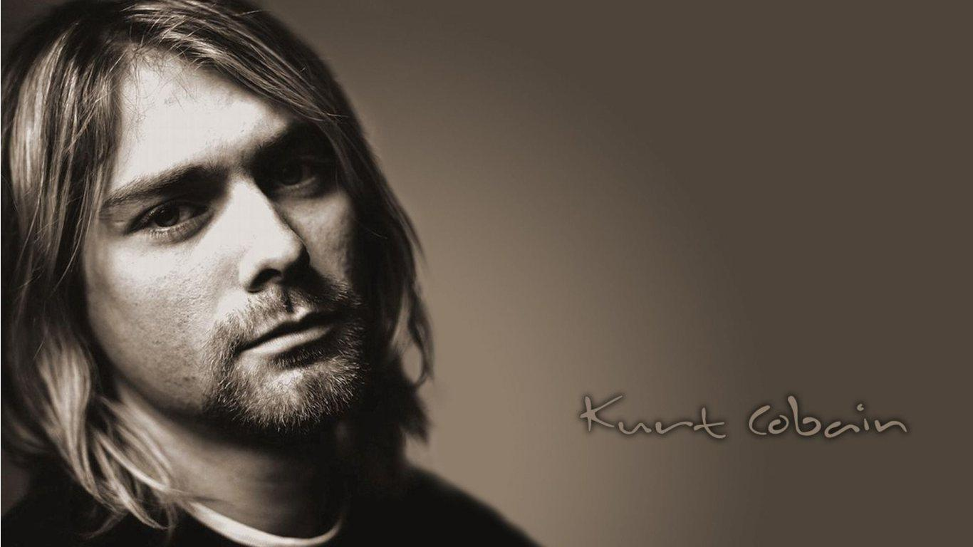 Kurt Cobain HD Wallpaper Slwallpapers 1366x768