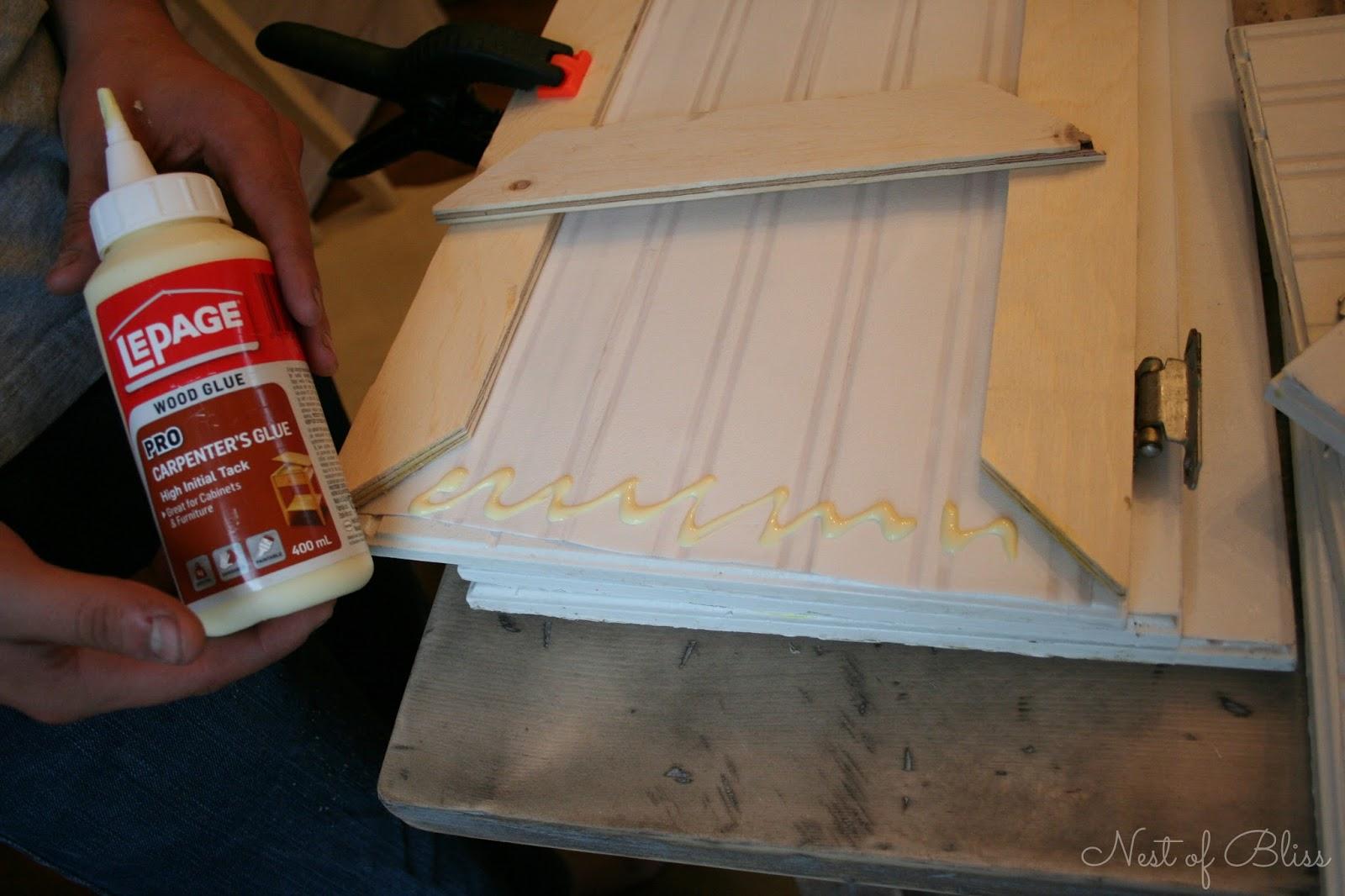 cabinet door beadboard makeover 1600x1066