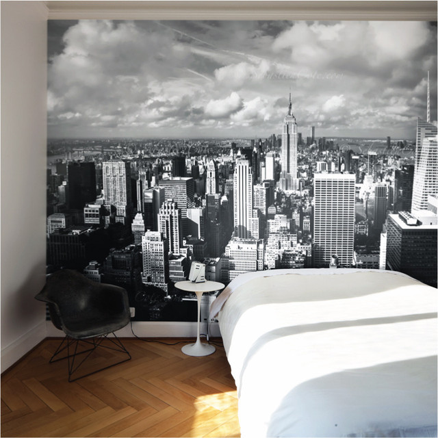 New York removable wall mural   Contemporary   Wallpaper 640x640
