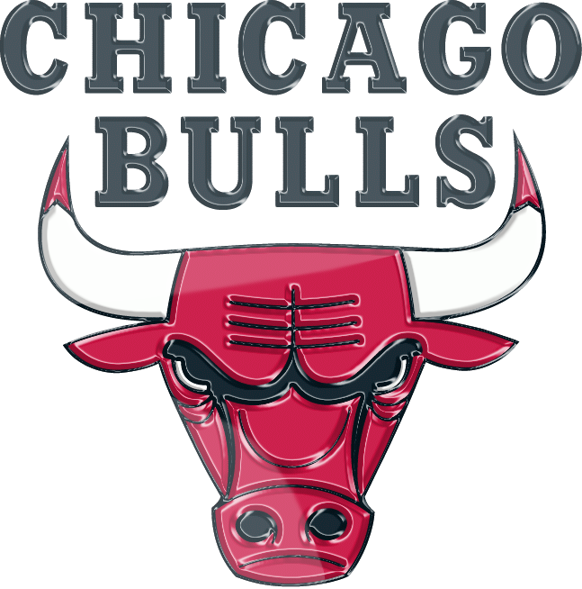 Chicago Bulls 3D Logo by Rico560 647x654
