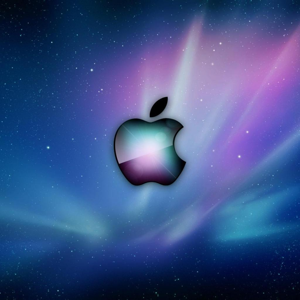 Apple Aurora iPad Wallpaper ipadflavacom 1024x1024