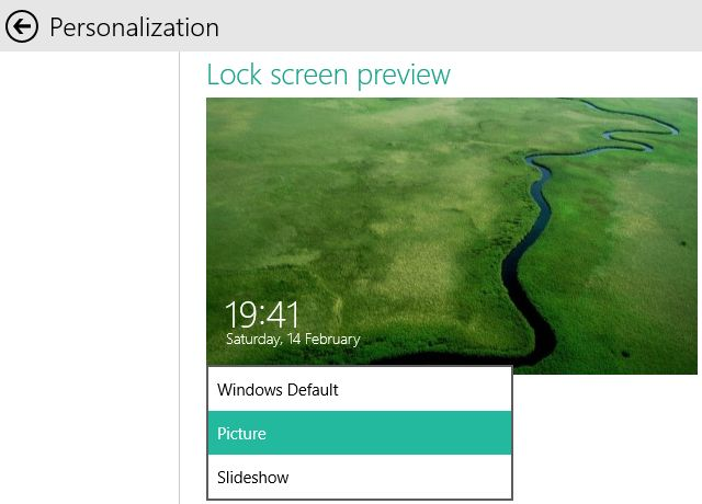 Below the lock screen preview you can select up to seven apps to 640x460